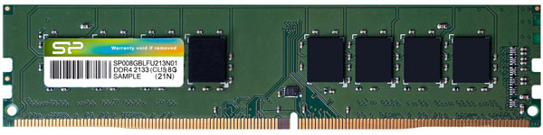 SPPR DDR4-2133-UDIMM Product